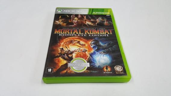 Mortal Kombat 9 Komplete Edition - Xbox 360 - Original