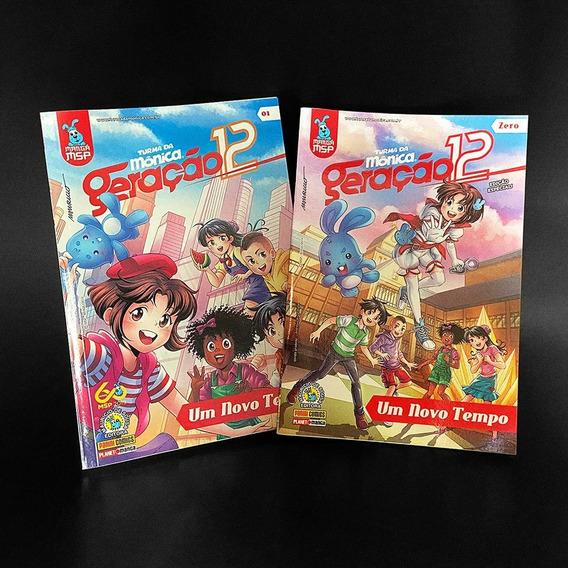 Turma Da Mônica: Geração 12 Edição #00 E Edição #01