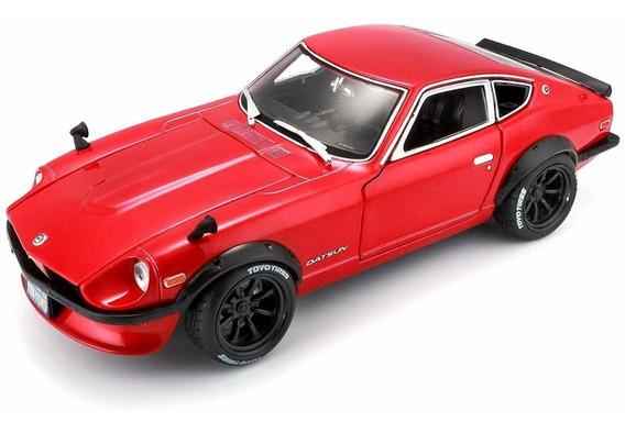 Miniatura Datsun 240z 1971 Vermelho 1:18 Maisto