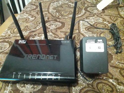 Router Trendnet Tew-691gr 3 Antenas