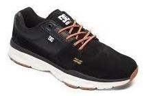 Zapatilla Dc Shoes Player Se Negro Cuero 1191112066c