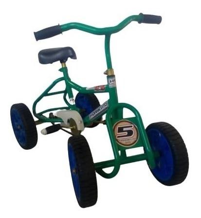 Cuatriciclo Auto Juguete Infantil Niño Niña A Pedal