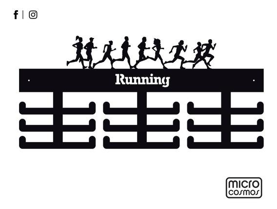 Medallero Personalizado Para Running