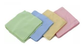 50 Panos (lenços) Microfibra P/limpeza Lcd/lente Em Geral