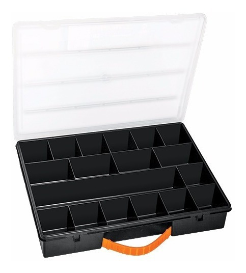 Organizador 18 Compartimientos Tornillos Accesorios Truper