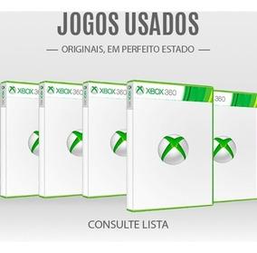 Jogos Diversos Usados Para Xbox 360 - Consulte Lista