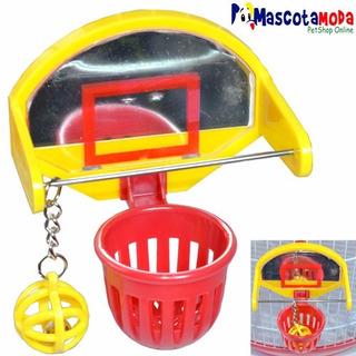 Juguete Tablero De Basketball Para Pericos Aves
