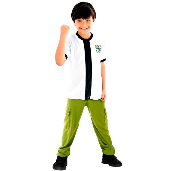 Roupa Ben 10 Original Completo 2 A 12 Fantasia Infantil