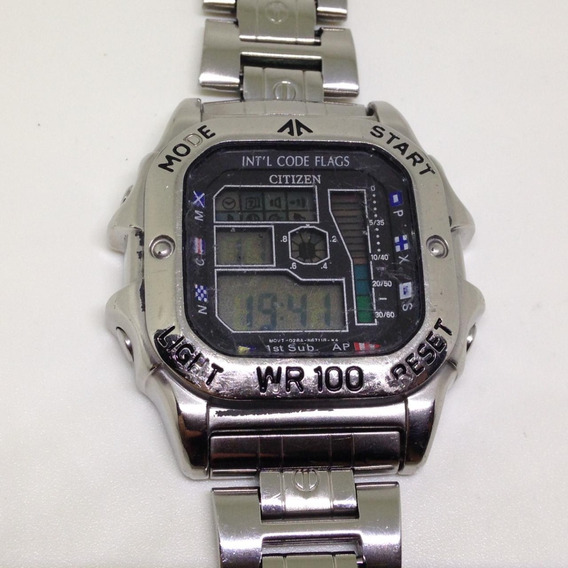 Relógio De Pulso Citizen Wr 100 Masculino U04697 Webclock