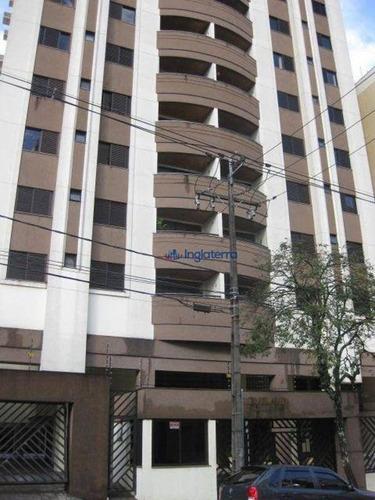 Apartamento À Venda, 100 M² Por R$ 350.000,00 - Centro - Londrina/pr - Ap1363
