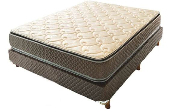 Colchón Y Sommier Cannon Exclusive Doble Pillow 1.40x1.90