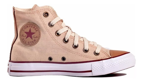 Bota Converse All Star Lino Natural Original