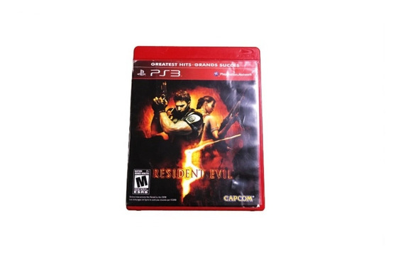 Jogo Ps3 Resident Evil Greatest Hits Grands Succes