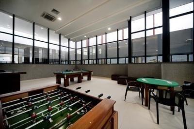 Flat Para Venda Em Belém, Nazaré, 1 Dormitório, 1 Suíte, 1 Banheiro - V4313