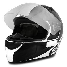 Capacete Moto Ebf E0x Spectro Branco