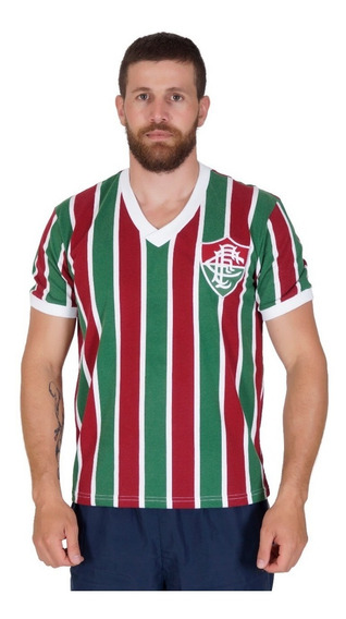 Camisa Fluminense Retro 1952 Tricolor - Liga Retrô Oficial
