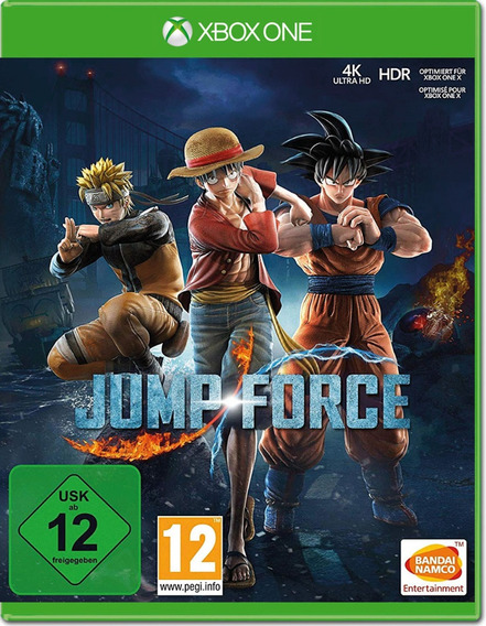 Game Jump Force Xbox One Midia Fisica Novo Anime Luta Barato