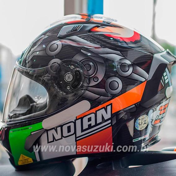 Capacete Nolan X-803 Ultra Carbon Melandri - Esportivo