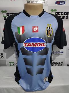 Camisa Juventus Champions League 2002-03 Buffon 1 À P/ Ent