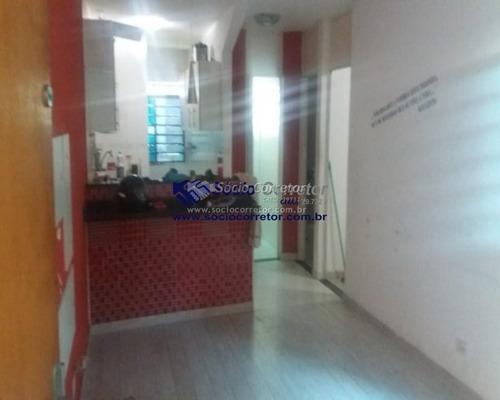 Imagem 1 de 15 de Apartamento Térreo A Venda 45 M² - Cond. Jurema 2 - Apartamento A Venda No Bairro Parque Jurema - Guarulhos, Sp - Sc00924