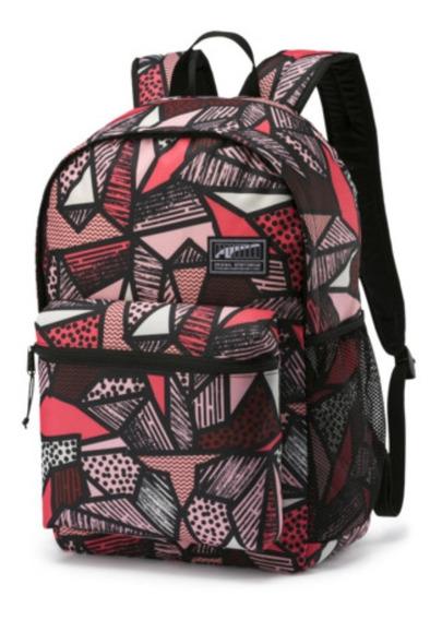 Mochila Puma Academy Backpack 075733 Notebook Asfl70