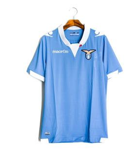 Camisa De Futebol Masculino Lazio 2014/15 Macron
