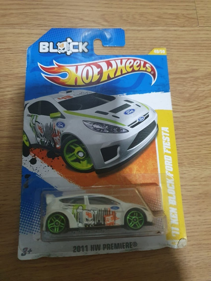 Hot Wheels 2011 Ken Block Ford Fiesta Drift Premiere 040/244