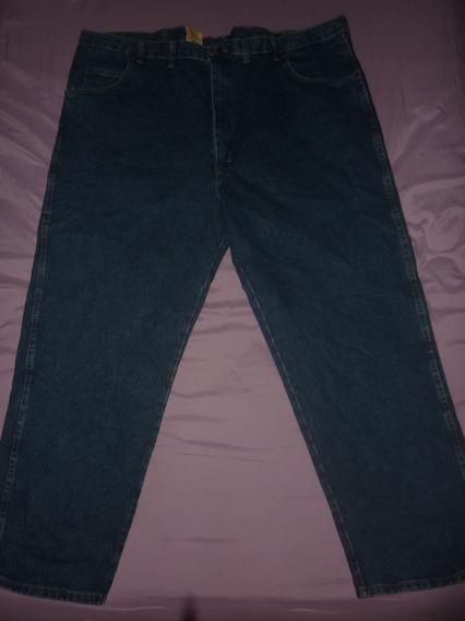 E Pantalon Jeans Wrangler Nuevo Talle Especial 50x30 Art 461