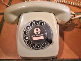 Telefonos Entel Vintage A Disco !! Caballito