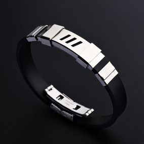 Bracelete Masculino - Aço Inoxidável