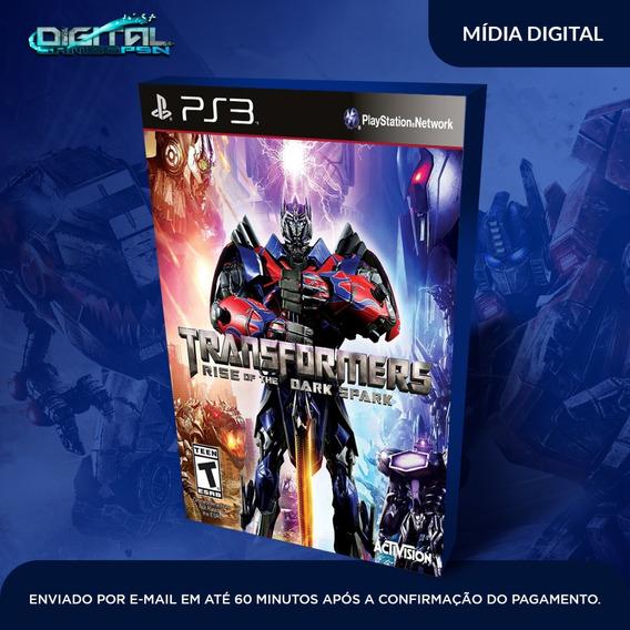 Transformers Rise Of The Dark Spark Ps3 Envio Agora.