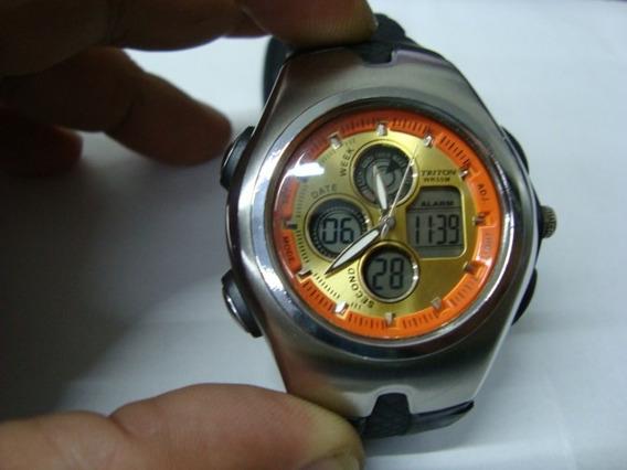 Relógio Cosmos Triton Analog./ Digital Os41155w Ed. Limited