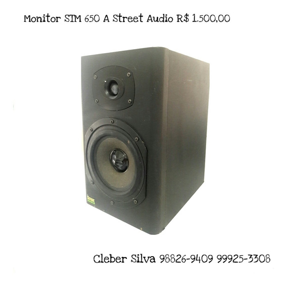 Monitores De Audio