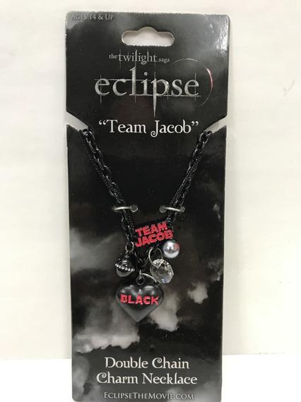Twilight Crepusculo Collar Team Equipo Jacob Doble Cadena