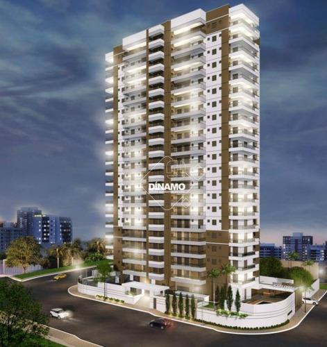 Apartamento Com 3 Dormitórios À Venda, 121 M² - Nova Aliança - Ribeirão Preto/sp - Ap3338