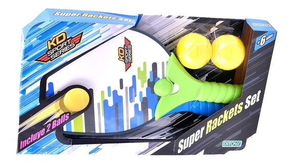 Super Set De Raquetas Ditoys