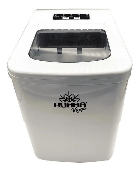 Fabrica De Hielo Hogareña Humma Viggo 12kg/dia Blanco