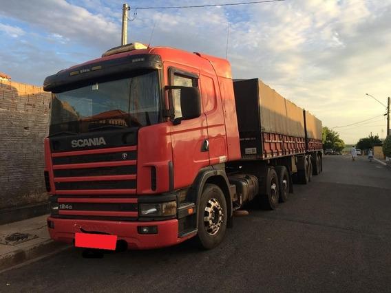 Scania R124 G400 6x2 02/03 (vt)