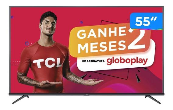 Smart Tv Tcl 50p8m Led 4k 50 Novo | 2895 Vendidos Smart