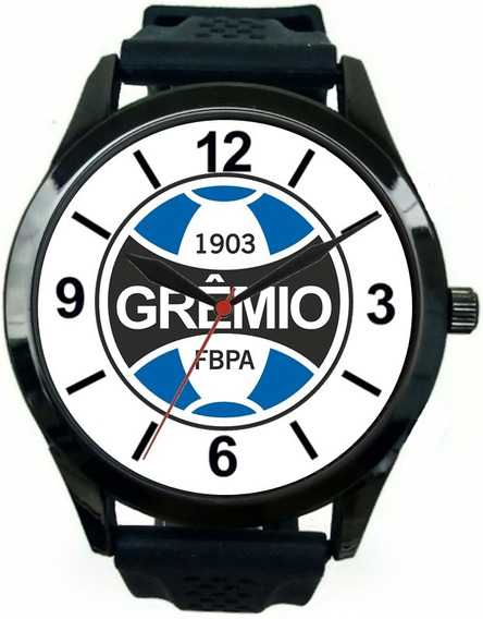 Relógio Pulso Esportivo Personalizado Gremista Torcedor Sul