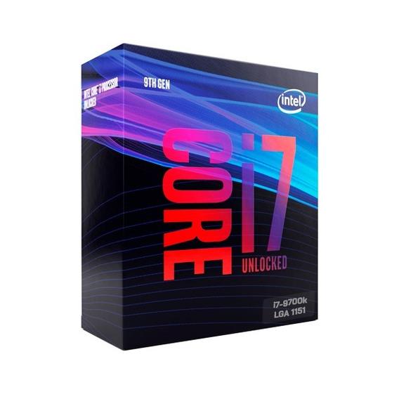 Processador Intel Core I7-9700k S1151 3.6ghz - 12mb Box