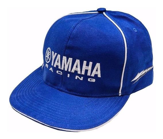Boné Aba Reta Racing Blue Original Yamaha