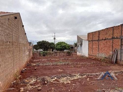 Terreno À Venda, 275 M² Por R$ 78.000,00 - Jardim Nobre - Rolândia/pr - Te0442