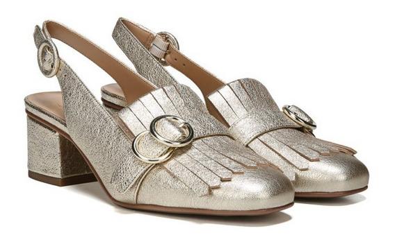 Zapatos Dama Numero 28 M/ 11 M Franco Sarto Platinum Piel