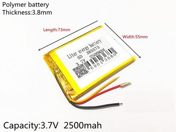 Bateria Gps 7 Polegadas 2500mah Multilaser Tracker Tv