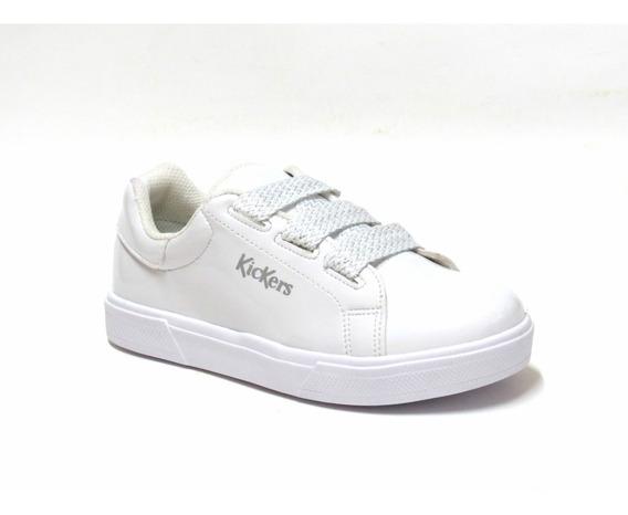 Zapatillas Sneakers Charol Cordon Kickers 21/36 Art Daria