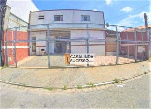 Imagem 1 de 9 de Galpão À Venda, 480 M² Por R$ 1.550.000,00 - Vila Carrão - São Paulo/sp - Ga0045