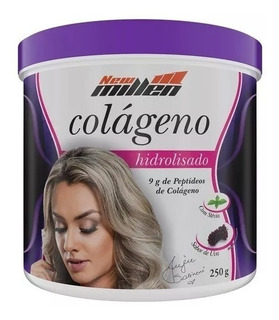 Colágeno Hidrolisado 250g Uva - New Millen