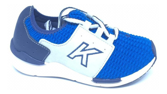 Tenis Masculino Infantil Kidy Azul Turquesa
