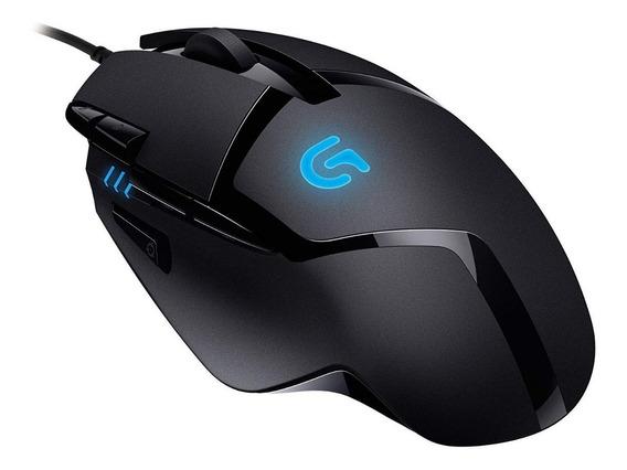 Mouse Logitech Gamer G402 Hyperion Fury 8 Botões 4000dpi